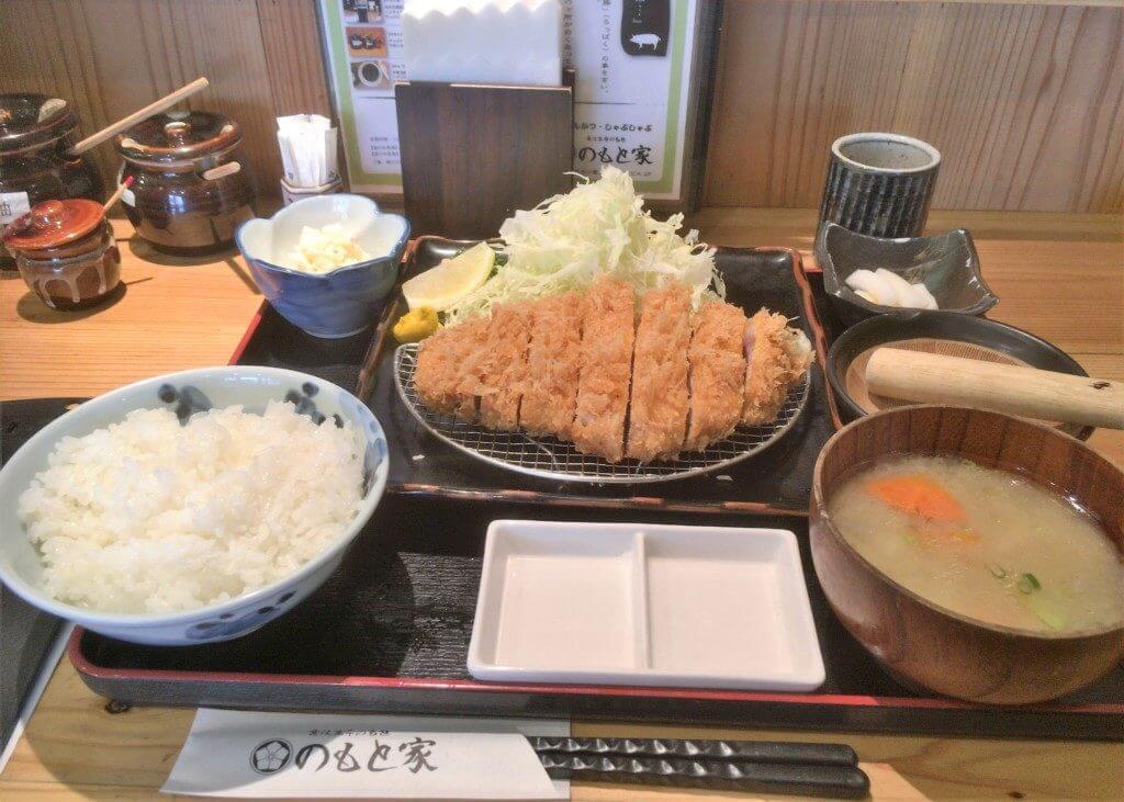 【特選】ロースかつ定食(160g)